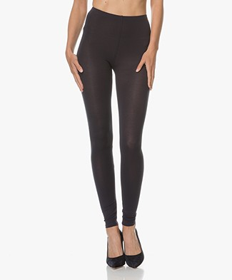 Majestic Soft Touch Jersey Legging - Marine