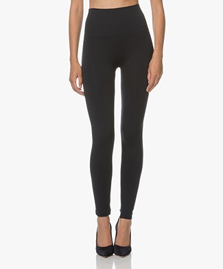 SPANX® Look At Me Now Seamless Leggings - Port Navy