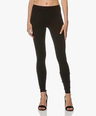 Joseph Soft Wool Legging - Black
