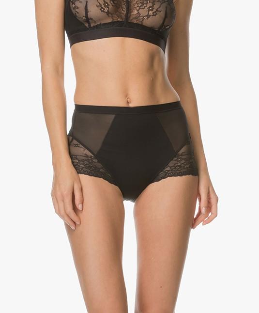 SPANX® Spotlight on Lace Slip - Very Black
