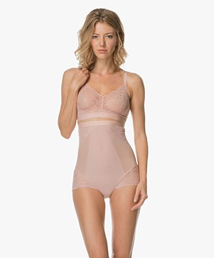 SPANX® Spotlight on Lace High Waisted Slip - Vintage Rose