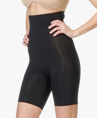 SPANX® Thinstincts Targeted High-Waist Short - Zwart