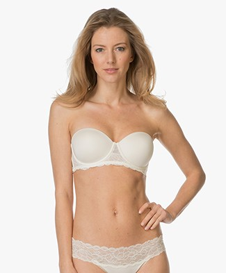 d190f16fa3 Calvin Klein Seductive Comfort Strapless BH - Ivory