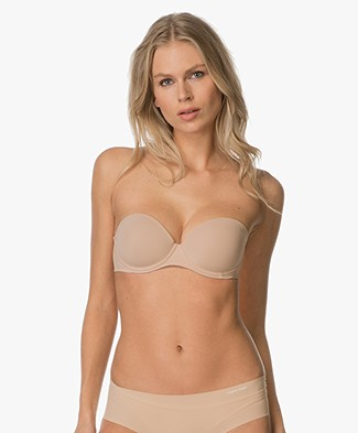 Calvin Klein Perfectly Fit Strapless BH - Bare