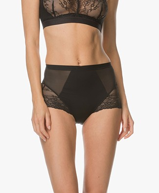 SPANX® Spotlight on Lace Brief - Very Black
