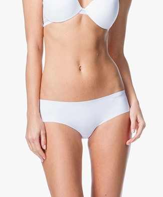 Calvin Klein Invisible Hipster - White