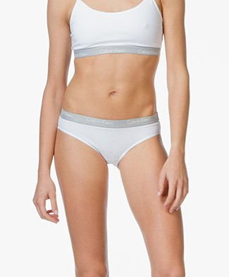 Calvin Klein CK One Briefs - White/Grey