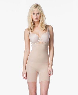 SPANX® Shape My Day Open-Bust Bodysuit - Natural