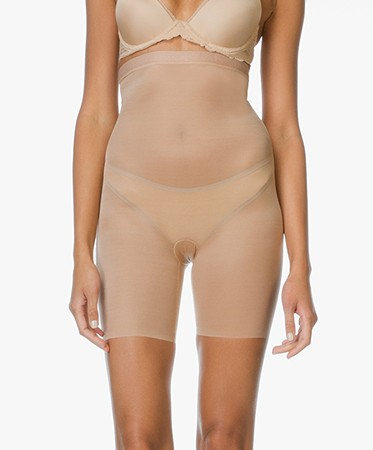 Spanx Shapewear - SPANX® Skinny Britches High-Waisted Short - Naked