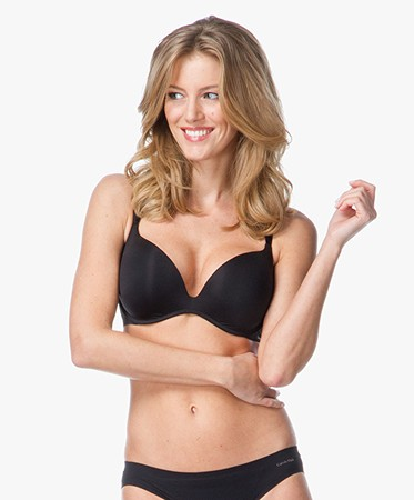 Calvin Klein Push Positive Push-Up Bra - Black