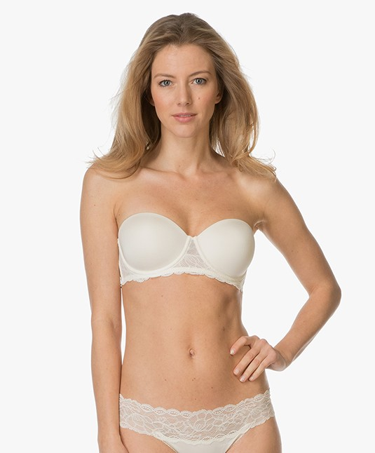 65abffd0f01a4 Calvin Klein Seductive Comfort Strapless Bra - Ivory - qf1437e 101 - ivory