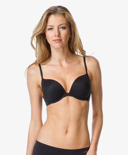 0491deac26e Home  »  bras  »  underwire bra · Calvin Klein Lingerie. Perfectly Fit Push-up  Bra Black