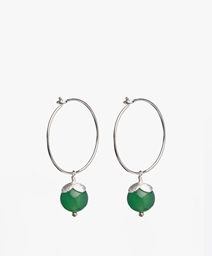 Susanne Friis Bjørner Hoop Earrings