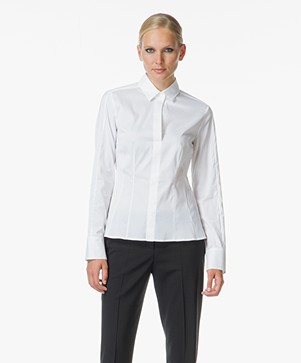 Hugo Boss Bashina Slim-fit Blouse