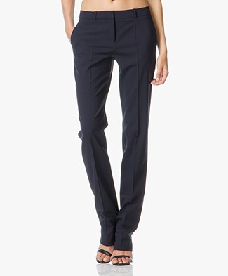 Hugo Boss Tamea Straight Pantalon in Wol-Stretch