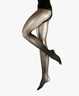 FALKE Shaping Top 20 Tights - Black