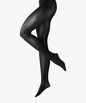 FALKE Cotton Touch Tights - Black