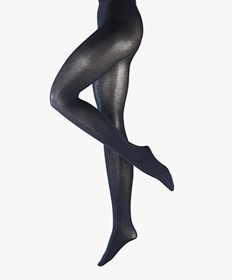 FALKE Cotton Touch Tights - Marine