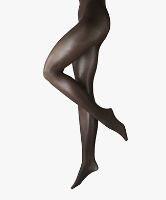 FALKE Seidenglatt 70 Tights - Mud (Brown)