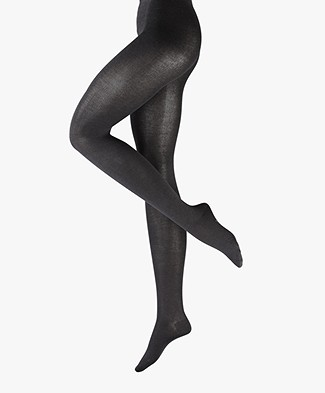 FALKE Sensual Touch Tights - Anthra Melange