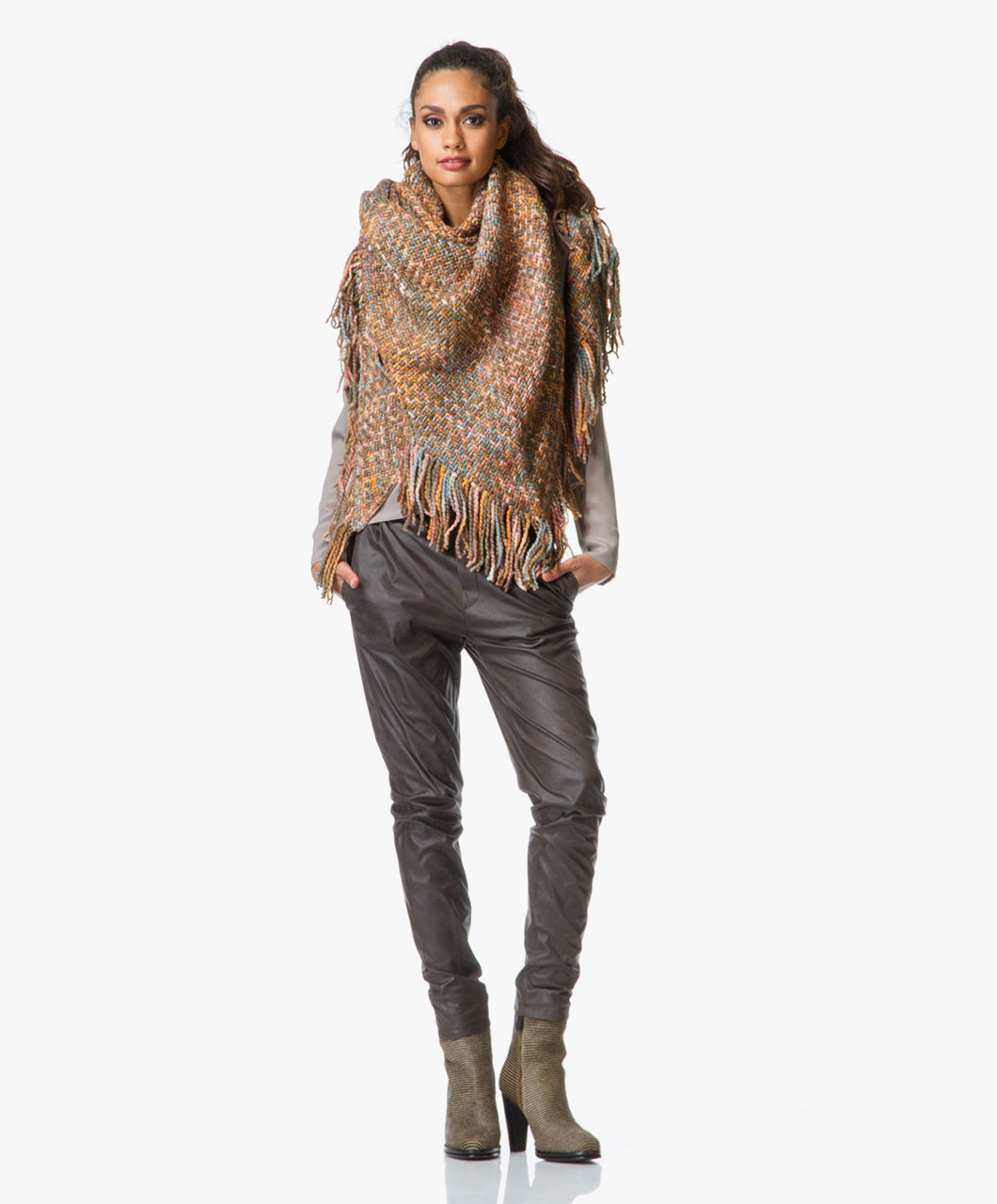 Shop the look safari chic perfectly basics - Bruin taupe ...