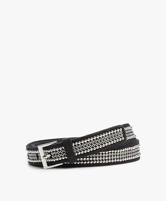 Zadig et Voltaire Ayla Studded Belt - Black