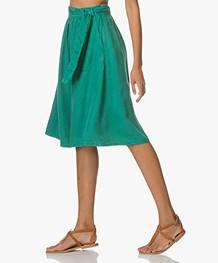 Marie Sixtine Bastian Tencel Skirt - Billard