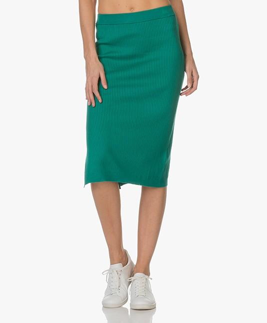 Marie Sixtine Balbine Pencil Skirt - Billard