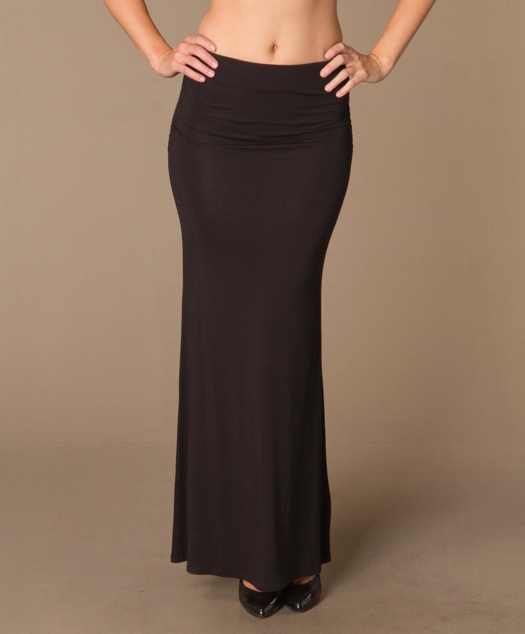 Zwarte jersey rok