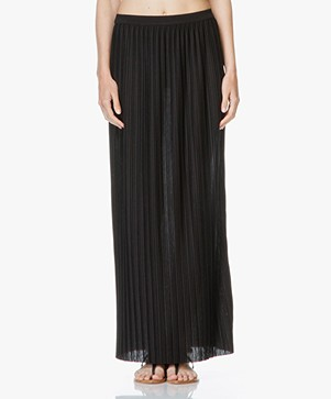 Theory Osnyo Pleated Skirt - Black