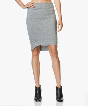 Josephine & Co Jerome Knitted Skirt - Dark Grey
