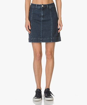 Filippa K A-lijn Denim Rok