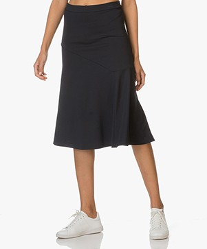 Filippa K Multi Cut Rok - Navy