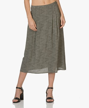 BY-BAR Bonma Printed Skirt - Algave