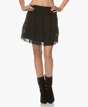 IRO Genia Short A-line Skirt - Black