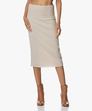 Josephine & Co Arend Knit pencil Skirt - Sand
