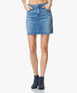 Rag & Bone / Jean Denim Mini-Skirt - Clean Bigbee