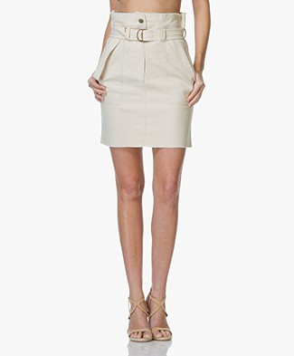 Vanessa Bruno Eseka High Waist Mini Skirt - Sable