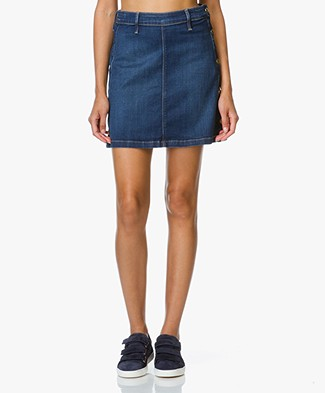 Frame Antibes Denim Mini Skirt - Lucia