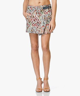 Ba&sh Bijou Jacquard Mini Skirt - Multicolor