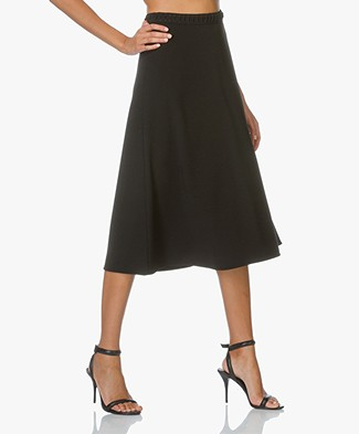 Alexander Wang Lace Detailed A-line Skirt - Black