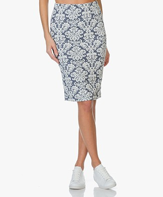 Josephine & Co Pencil Skirt Eelco in Jacquard