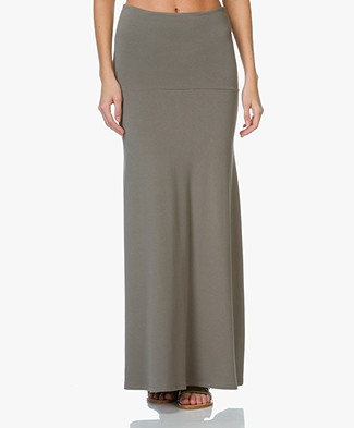 Majestic Jersey A-line Skirt - Army