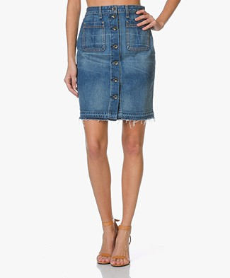 Rag & Bone / Jean Denim Skirt - Santa Cruz