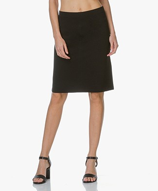 Filippa K Clean Jersey Skirt - Black