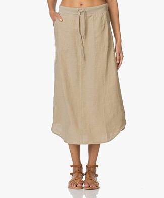 Josephine & Co Ed Linen Midi Skirt