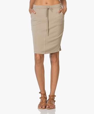 Josephine & Co Erin Sweat Skirt - Light Khaki
