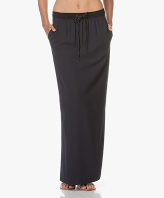 BOSS Orange Bendrah Maxi-skirt - Dark Blue