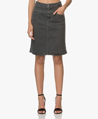 Closed Susie Denim Rok - Clean Anthracite