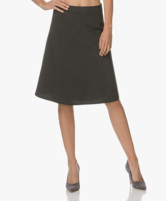 Filippa K A-line Skirt - Anthracite